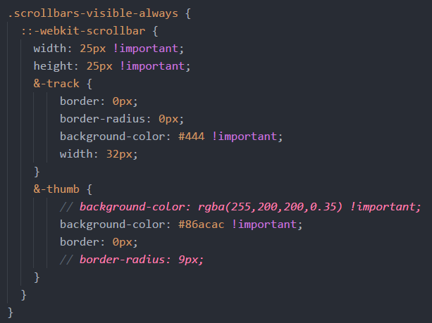 Atom: How to enable and style editor scrollbars - Chris Nielsen Code